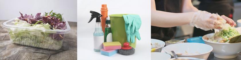 食品容器・衛生用品・消耗資材